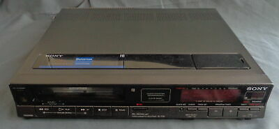 SONY BETAMAX SL-F35 videorecorder videospeler video cassette recorder VCR works