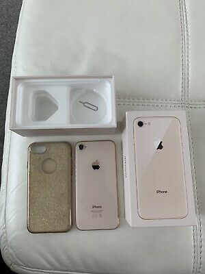 Apple iPhone 8 - 64GB - Gold (Unlocked) A1905 (GSM) Smartphone