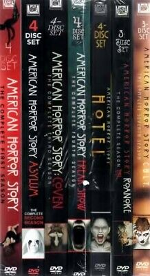 American Horror Story The Complete Series 26 DVD Bundled Set New Free Shipping