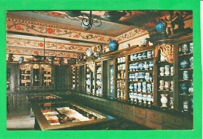 Postcard ~ Old World Apothecary Shop Us National Museum ~ Vintage 7032