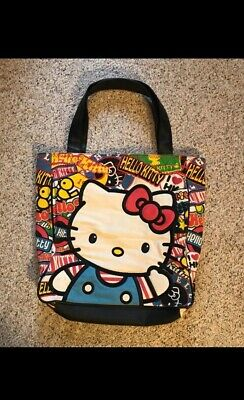 9308f63b9 HELLO KITTY LOUNGEFLY Wallet Pastel Pink White Classic Vintage Print ...