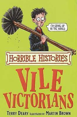 The Vile Victorians (Horrible Histories), Deary, Terry | Used Book, Fast Deliver