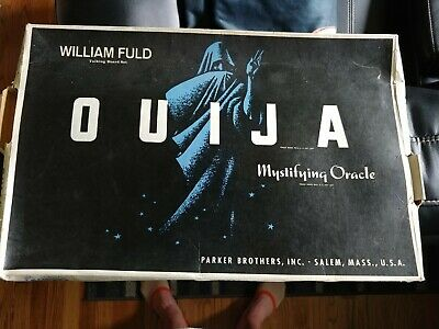 Vintage William Fuld Ouija Board with Box 60's Parker Brothers Large 22 x 15