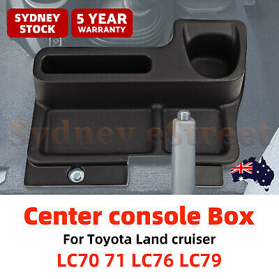 Storage Tray Insert Center console Box For Toyota Land cruiser LC70 71 LC76 LC79