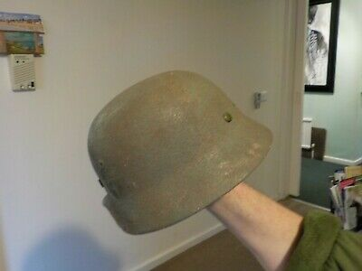 WW2 GERMAN ORIGINAL helmet shell only M40 ROUGH TEXTURE to sell