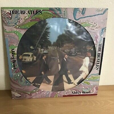 THE BEATLES  Abbey Road  Ltd Edition Picture Disc CAPITOL SEAX 11900 EX/NM