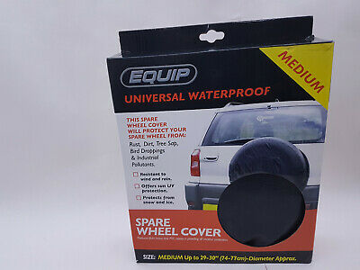 1 x UNIVERSAL WATERPROOF CAR VEHICLE SPARE WHEEL TYRE BAG COVER SIZE MEDIUM 29""