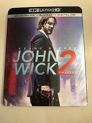 JOHN WICK Chapter 2 - 4K UHD .+ Blu-ray + Digital HD
