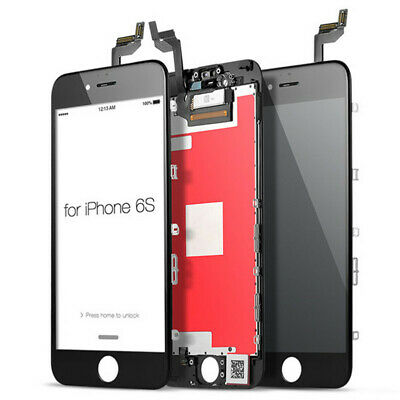 For iPhone 6s LCD Display Touch Screen Digitizer Replacement Assembly - Black