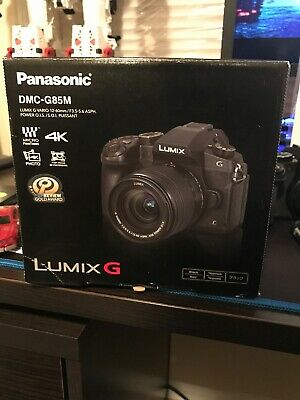 Panasonic Lumix DMC-G85 with 12-60mm Lens Mirrorless Digital Camera Kit Used