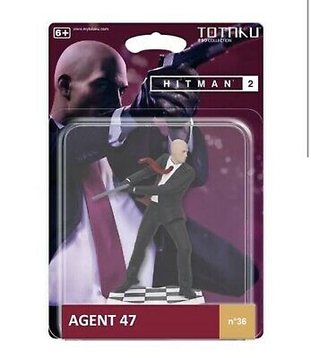 NEW HITMAN 2 - AGENT 47 TOTAKU™ Figure No 36  Collection - official Playstation