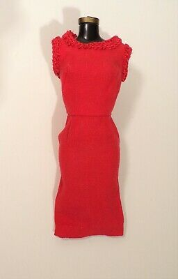 """Vintage Barbie """"Matinee Fashion"""" Dress Only #1640 1965 Mint"""