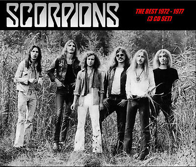 Scorpions - [Remastered] The Best 1972 - 1977 (3 CD Set) Compilation! New!