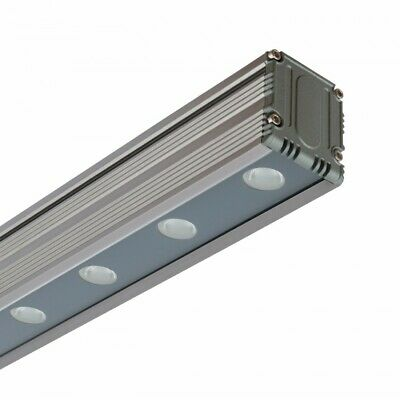 Linéaire LED Wallwasher 24W RGB DMX IP65 Aluminium / PC / Verre 24V DC IP65
