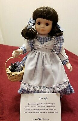 "1998 Royalton Collection Porcelain Storybook Doll /""ALICE IN WONDERLAND/""  NEW MIB"