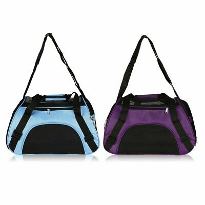 Pet Carrier Soft Sided Cat Dog Comfort Travel Tote Bag Airline Approved Carry