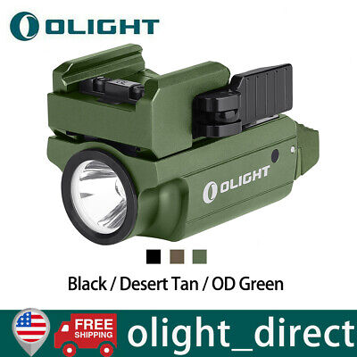 OLIGHT PL-MINI 2 600 Lumens Black/FDE Rechargeable Weapon Light Tactical Light