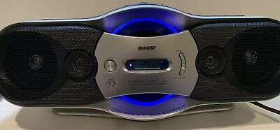 Sony CFD-F10 Boom Box CD/Radio/Cassette/Recorder w/Bass Expansion