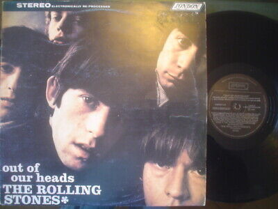 ROLLING STONES lp OUT OF OUR HEADS argentina ID# 32576 1987 LONDON 27424 ROLLING