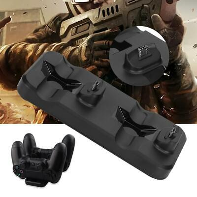 For PS4 Controller Fast Charging Station Dock Stand Dualshock USB Cable Base