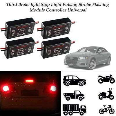 FLASH STROBE CONTROLLER Flasher Module for LED 3rd Brake