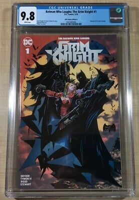 Batman Who Laughs: The Grim Knight #1 CGC 9.8! 423 Philip Tan Homage Cover! KRS