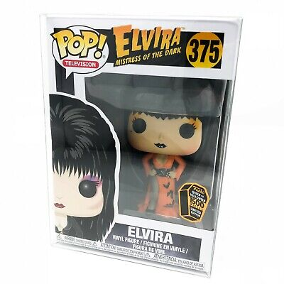 Elvira: Mistress of the Dark - Orange Dress #375 Funko Pop! Vinyl *Spooky Empire