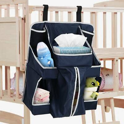 New Baby Nursery Hanging Organiser Tidy Storage Nappies Changing Holder Gift Bed