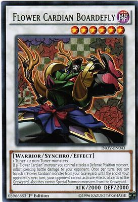 YUGIOH Flower Cardian Deck Complete 40 - Cards + Extra