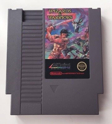 Nintendo Entertainment System NES Wizards & Warriors (GAME CARTRIDGE ONLY)