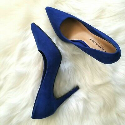 a14591d99677f NEW Christian Siriano Habit Pointed Toe Cobalt Blue Pumps Heels Shoes Size  9.5