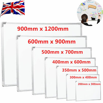 Large Magnetic Whiteboard Dry Wipe Drawing Board Small 1200x900/ 900x600/700x500