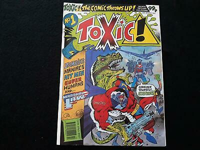 Toxic comic (2000AD spin off) issue 1 (LOT#6903)