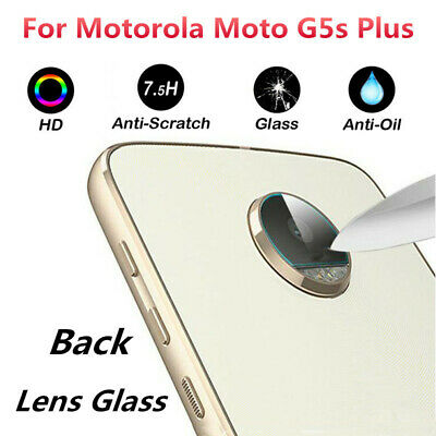 Rear Camera Lens Tempered Glass Protector Guard Film For Motorola Moto G5s Plus