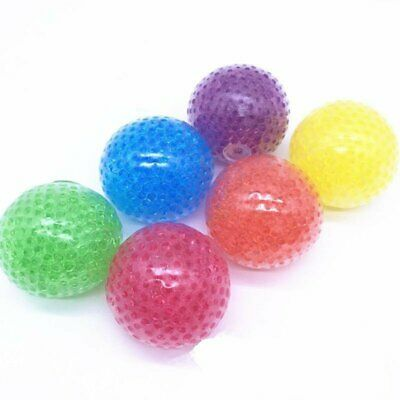 Squishy Bead Stress Ball Sensory Squeeze Toy Anxiety Relief Calming Gift VU