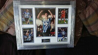 Signed And Framed Lee Bullen Photo's (Sheffield Wednesday)