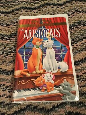 The Aristocats VHS 1970 Brand NEW Factory Sealed Walt Disney Gold Collection