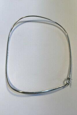 Georg Jensen Sterling Silver Neck Ring by Vivianna Torun No 173