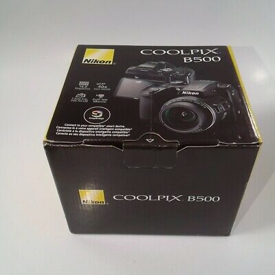 Nikon COOLPIX B500 16MP 40x Optical Zoom Digital Camera #3308