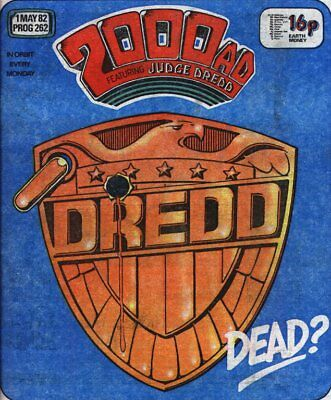 2000Ad Prog 262 Judge Dredd 1 Key Issue Comic Lot. Great Condition >>Fast Post<<