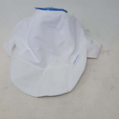 125KP500 i play Baby Flap Sun Protection Swim Hat 9-18 months White
