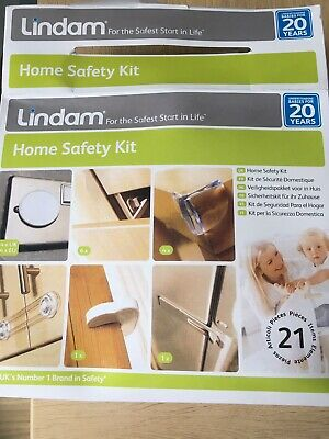 "Lindam Home Safety Kit 21 pcs /""for the safest start in life/"""
