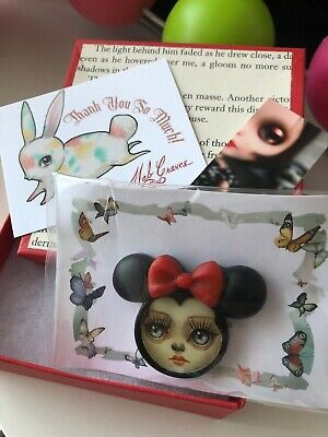 Mab Graves Minnie Mouse brooch Limited Run