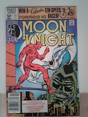 Moon Knight #13 Daredevil Marvel Bronze Age