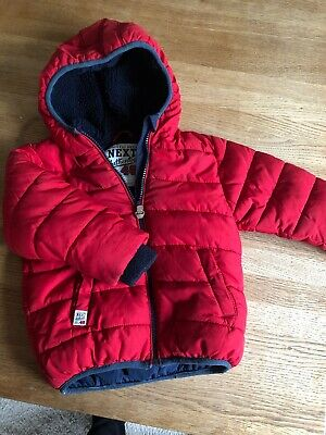 Boys Coat Age 18-24 Months From Next