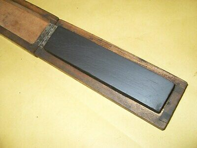 """Thuringian (Most Likely) Sharpening Stone - 4 7/16"""" x 1"""" - As Photo's."""