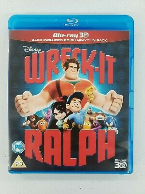 Wreck-It Ralph 3D+2D [Blu-ray Region Free]