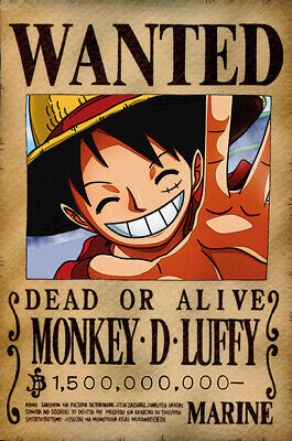 One Piece WANTED Poster (A3: 27 x 41 cm) - MONKEY D. LUFFY – Last Bounty!
