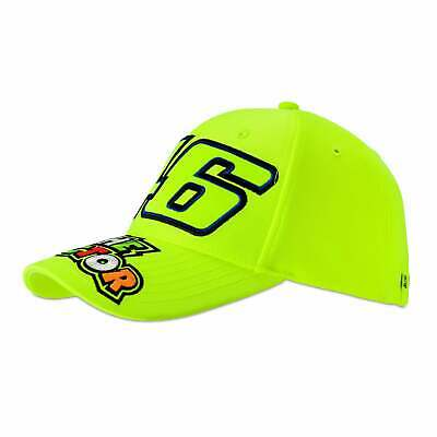 Valentino Rossi VR46 The Doctor 46 Cap Yellow 2019 ADULT