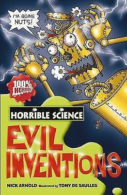 Evil Inventions (Horrible Science), Arnold, Nick | Used Book, Fast Delivery